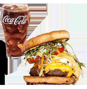 burger coke obesity
