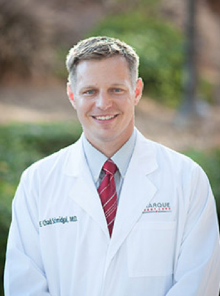 A headshot of CHAD SCHMIDGAL, M.D.at Marque Medical.