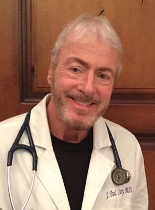 Head-shot of J. PAUL CURRY, M.D.