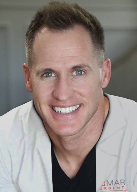 Head shot of Taylor R. Pollei M.D. at Marque Medical.