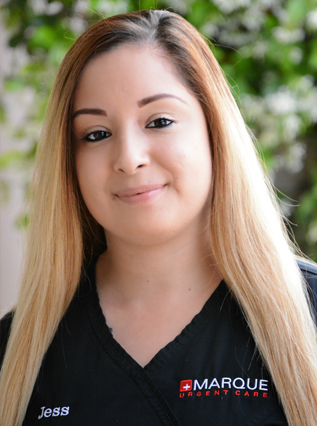 Head-shot of JESSICA SUAREZ  Regional Manager in Santa Margarita and Mission Viejo