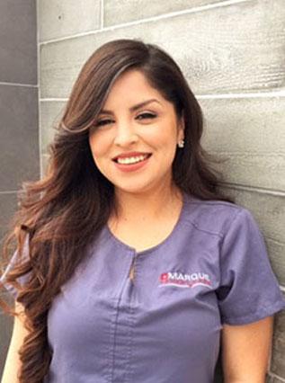 Head shot of Keilah Martinez at Marque Medical.