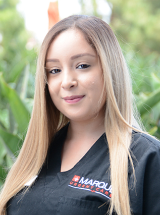 head shot of Jessica Suarez at Marque Medical