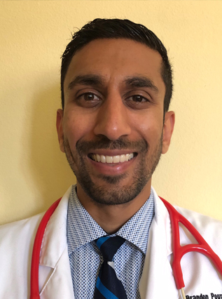 headshot of the doctor ALI PARSAEIAN, M.D